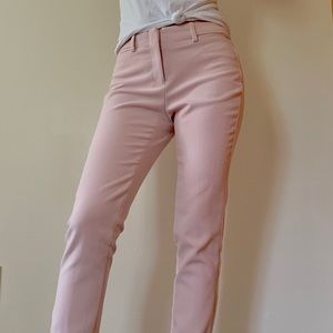Light pink dress pants